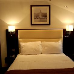 Two Person Bed - Edward Hotel London
