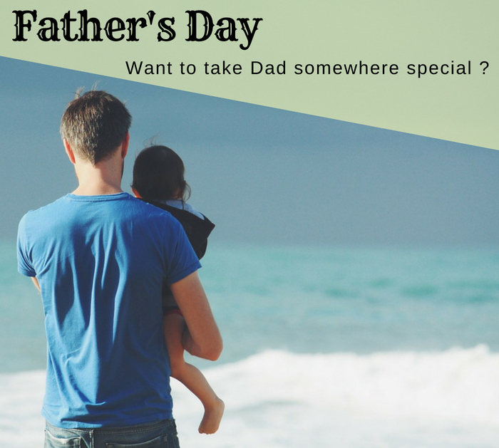 Want to take Dad out on Father's Day?