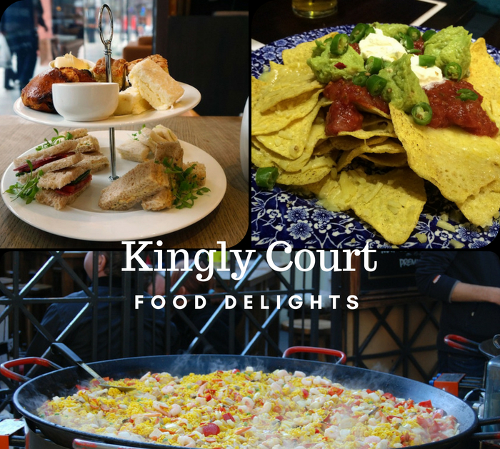 Kingly Court London Food