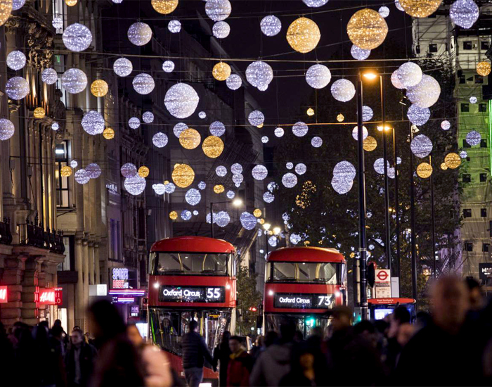 Sparkles of Oxford Street Christmas Lights