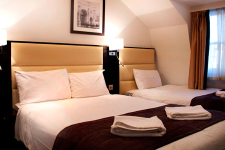 Guest Room Facilities - Hotel Edward London