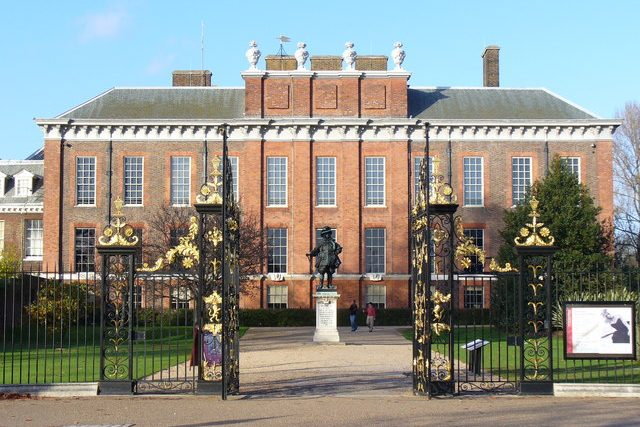 Kensington Palace near Edward Hotel London