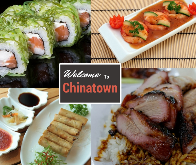 Chinatown - Heaven for delicious Chinese Food
