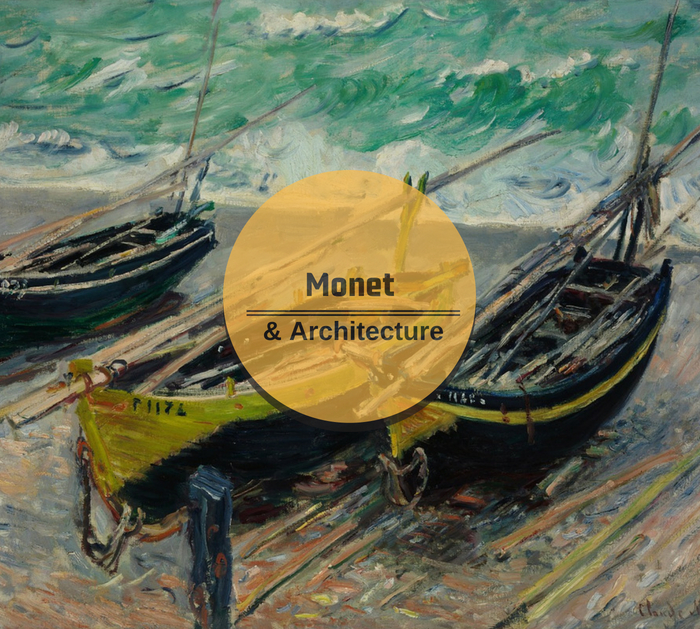 Monet & Architecture at London's National Gallery