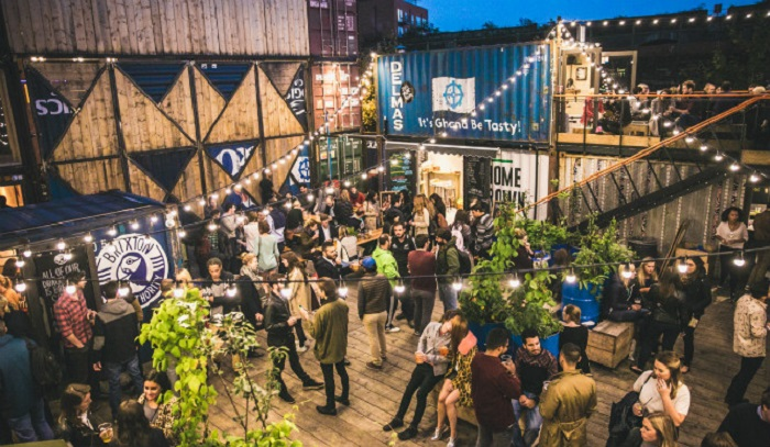 Pop Brixton's Block Party Cinema
